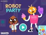 Aplicación Mejor versión parcial de programa para Niños fiesta robot de sagú Mini ipad ellie