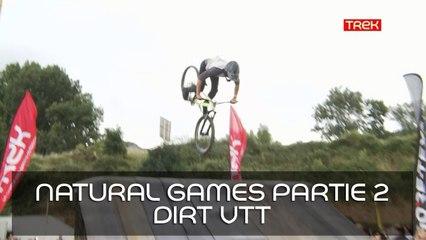 [Natural Games 2017] Revivez le live! - Partie 2: Live Dirt VTT avec Greg Tournon et notre reporter Laury - Trek TV