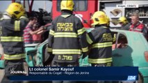 Israël: Exercice conjoint de pompiers israéliens et palestiniens