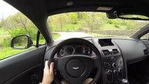 new Aston Martin V8 Vantage GT - WR TV POV Canyon Drive