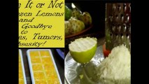 Frozen Lemons Cure For Diabetics - BELIEVE IT OR NOT, USE FROZEN LEMONS AND SAY GOODBYE TO DIABETES, TUMORS, OVERWEIGHT