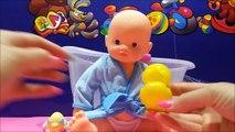 Un et un à un un à et bébé bain Baignoire poupée poupées Comment Nouveau douche douche des sons à Il jouet jouets vidéos w