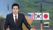 Nuclear envoys of Seoul, Washington, Tokyo discuss N. Korea's missile launch