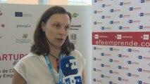 """Elena García, BStartup Advisor Banco Sabadell """"apoyamos jóvenes emprendedores con base tecnológica de sus proyectos"""""""