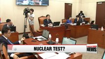 S. Korea's defense ministry sees high possibility of N. Korea's nuclear test