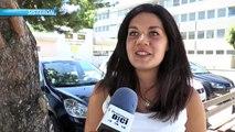 Alpes de Haute-Provence : la dernière lycéenne Sisteronaise devant l'établissement après les résultats du bac