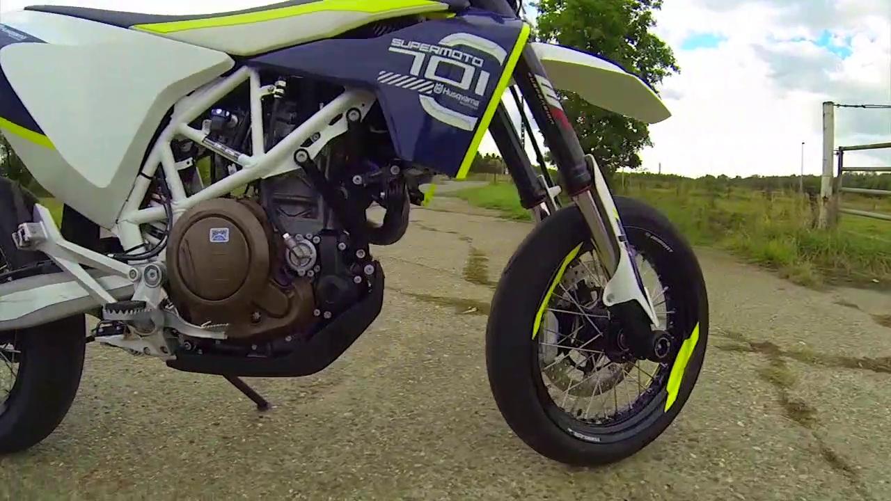 My new motorcycle!!! Husqvarna 701 Superm