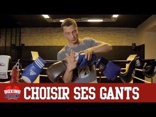 GANTS BOXE - CHOISIR SES GANTS DE BOXE