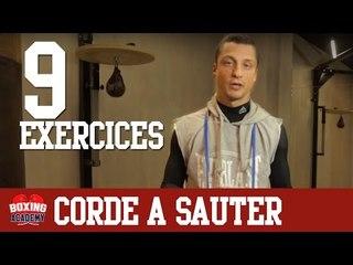 SAUT A LA CORDE - 9 EXERCICES DE CORDE A SAUTER