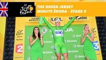 The ŠKODA green jersey minute - Stage 5 - Tour de France 2017