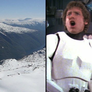 In a galaxy closer than you'd think, Star Wars was filmed [Mic Archives]