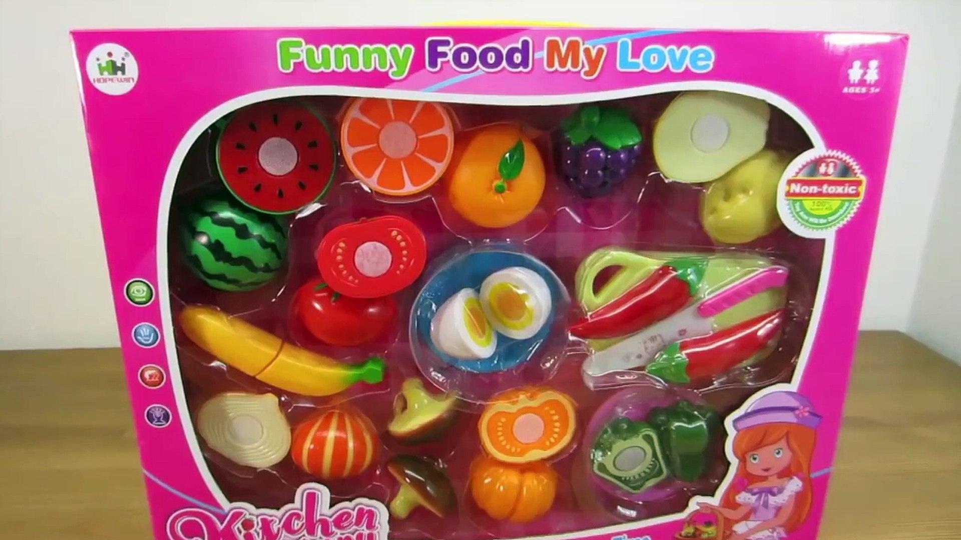 Игрушка резка липучка фрукты и овощи игрушка кухня Готовка суп Узнайте имен из фрукты