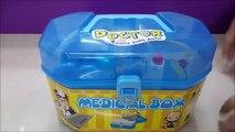 Un et un à un un à boîte de docteur la famille a trousse médical Nouveau jouet jouets pour enfants jouets médecin de famille de katie