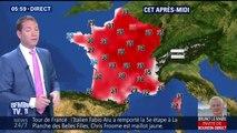 Météo : une journée très chaude ce jeudi et de violents orages dans le Nord