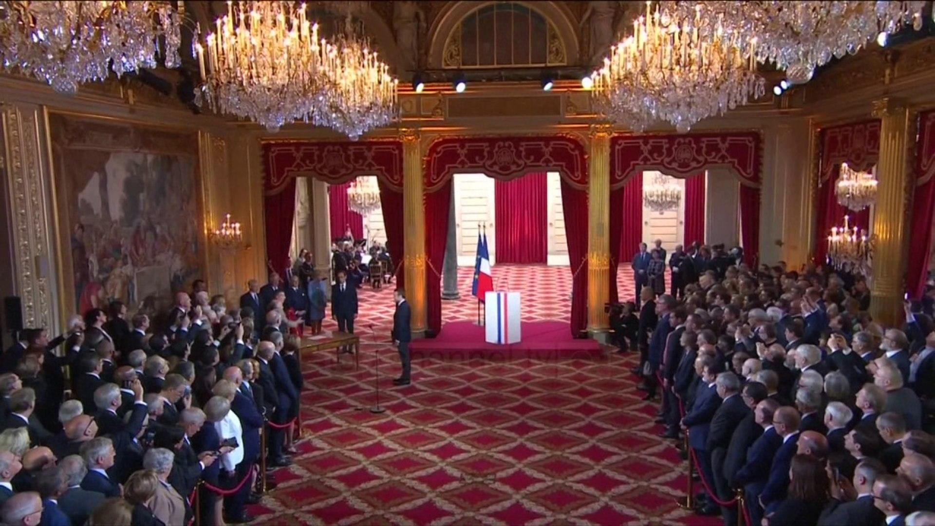 Francë, Macron betohet si president - Top Channel Albania - News - Lajme