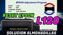 Reset EPSON L120 Solucion Almohadillas han llegado al final de su vida Util - 100 % Garantizado