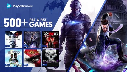 PS4 Games Come to PlayStation Now de