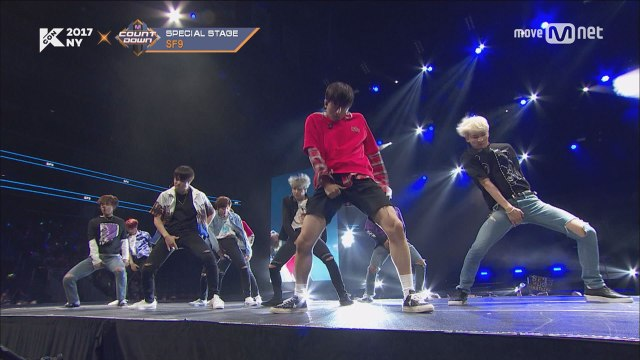 KCON 2017 NY×M COUNTDOWN |SF9 _ CALL ME BABY + 상남자 (Boy In Luv)