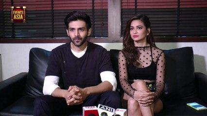 Kartik Aaryan and Kriti Kharbanda INTERVIEW For Movie Guest in London