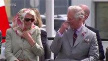 Le prince Charles et sa femme Camilla pris d'un fou rire incontrôlable