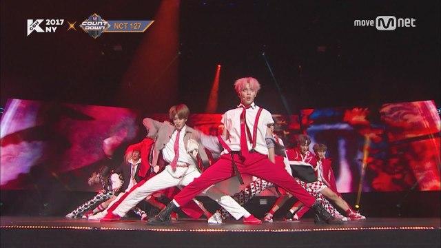 KCON 2017 NY×M COUNTDOWN |NCT 127 _ INTRO + Cherry Bomb