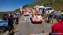 Tour de France 2016: au coeur de la caravane publicitaire dans le Grand Colombier