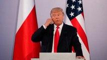 Le président américain s'exprime en direct depuis la Place Krasinski à Varsovie. A suivre en direct sur euronews.