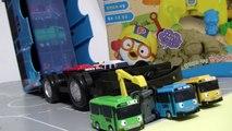 Автобус экскаваторы мало в Игрушки Получить в Tayo Малого автобус Poco Вилочных поймать игрушку играть Тайо конструктор мультфильмы пр