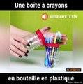 Une astuce pour recycler vos bouteilles en plastiques