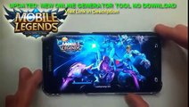 Mobile Legends Hack Tool Free Diamonds Cheats [iOSAndroid]No ROOTNO JAILBREAK1
