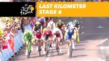 Flamme rouge - Étape 6 / Stage 6 - Tour de France 2017