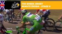 The ŠKODA green jersey minute - Stage 6 - Tour de France 2017