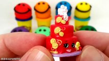 Et les couleurs crème Créatif léléphant pour amusement amusement de la glace enfants Apprendre moules porc jouer Doh popsicle peppa