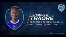 2017-18⎥Prolongation de contrat pour Charles Traoré