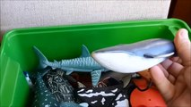 Shark Toys Kids Toy Box Sea Aimals Toy Whales sea turtles