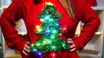 Bricolage facile laid Noël chandails Ensemble chandail 8 journée de Noël Nouveau