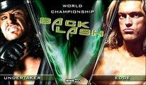 Undertaker vs. Edge- Backlash 2008 heavyweight championship