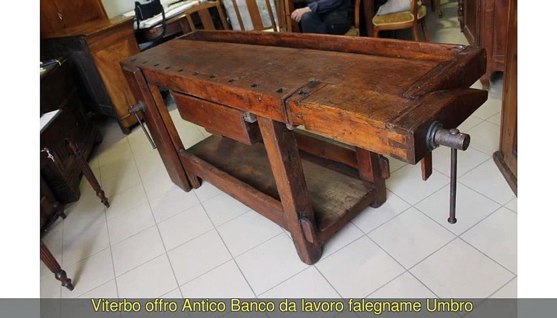Banco Da Falegname Antico antico banco da lavoro, falegname - video dailymotion