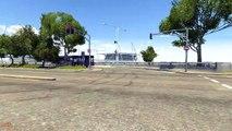 Negro accidente prueba prueba camión Beamng.drive mod maz-535