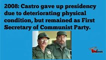 Fidel Castro Died|Cubas Former president Fidel Castro Dies Aged 90