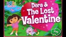 Aventura y dibujos animados día Explorador perdió el enamorado San valentín vídeo Dora dora