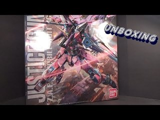 Unboxing: 1/100 MG Justice Gundam