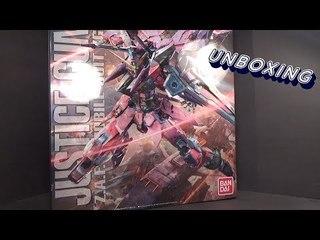 Unboxing: 1/100 MG Justice Gundam