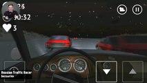 Androïde coureur examen russe circulation hiver sur hiver simulateur de conduite