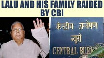 Lalu Prasad Yadav and his family raided by CBI over corruption charges | Oneindia News