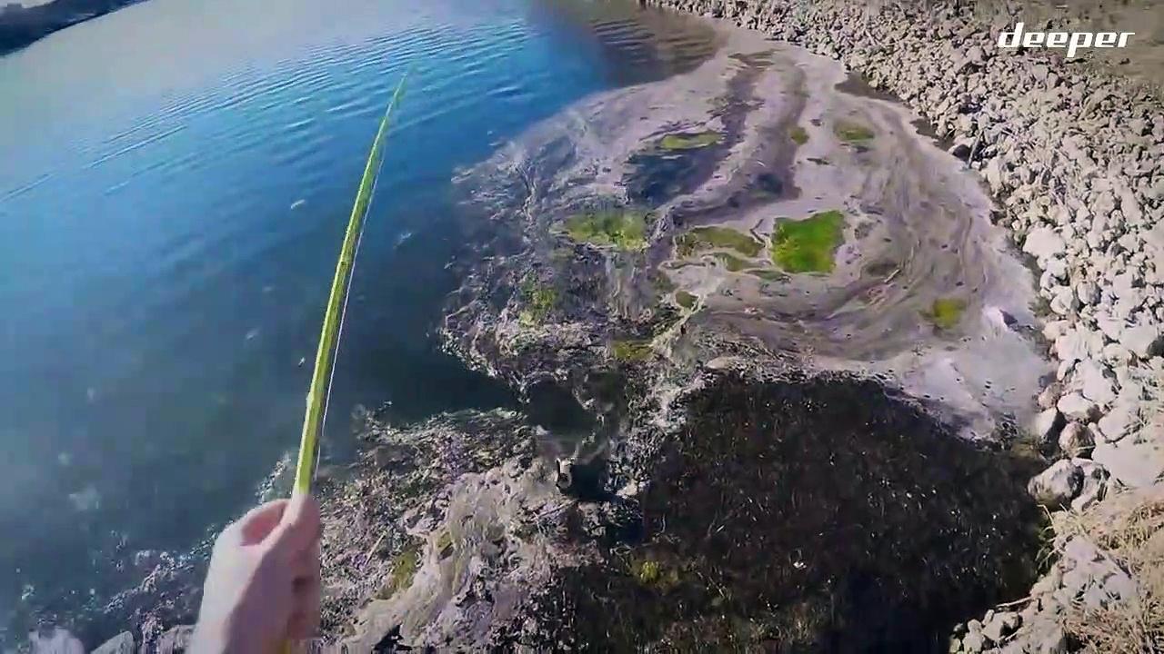 Deeper Fishing Acet bass in open