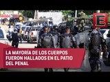 Confirman muerte de 28 personas tras enfrentamiento en Penal de Acapulco