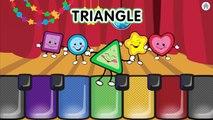 Aventure dessin animé enfants les couleurs pour des jeux enfants Apprendre nombres formes animation