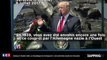 Donald Trump : Ses propos chocs sur l'occupation nazie en Pologne créent la polémique (vidéo)