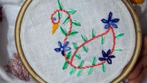 Hand Embroidery: Hand Stitch:Certain Stitch - video dailymotion